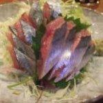 炉ばた 万年青 - 秋刀魚刺身