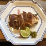 割烹 ゆう介 - 地鶏焼 800円