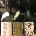 シンバシキッチンモト - 飲んだ日本酒達