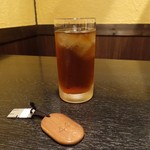 旗籠家 - イラッシャイマセの冷たい烏龍茶
