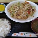 でいご - フーチャンプルー定食