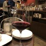 Ciao centro - グラス赤ワイン