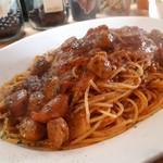 Primo Passo - バジルソーセージとチョリソーのトマトソース