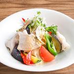 NEW!■ヤマトポークの冷しゃぶと初夏野菜の冷やし鉢