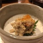 西新初喜 - ◆小鉢は「卯の花」・・しっとりと煮含められ美味しい。