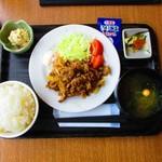85889422 - 『豚の生姜焼き定食』