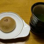 千鳥饅頭総本舗 - お茶といただきました