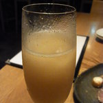 Bar MICHIya - 桃のシャンパンカクテル