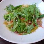 ベルベール - ベーコンと季節野菜のパスタ