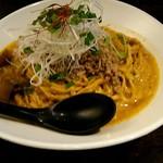 担担麺 胡 - 汁なし担坦麺(特大)