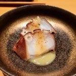 八新鮨 - 料理写真:○国東蛸の緑茶煮様(突出しです)