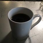 歌舞伎町ブックセンター - FOOD SETのコーヒー