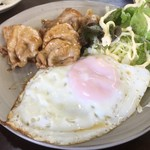 旅路食堂 - 豚たれ焼き&目玉焼き