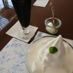 モーニング - ヨーグルトパルフェ アイスコーヒー