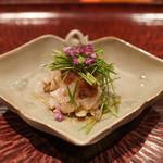 日本料理 晴山 - おこぜ、三河マコガレー