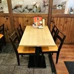横綱 - 1階テーブル席