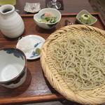 かね田 宝庵 - 「桜御膳」のせいろ・小鉢・甘味