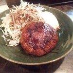 むらかみ - 料理写真:ボリューム満点つくねのハンバーグ!!