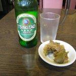 皇庭餃子房 - 青島ビール
