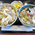 三嶋屋 - 親子丼定食