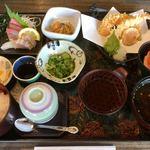 活魚小松 - 小鉢いっぱいヽ(・∀・)1200円