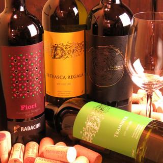 """モルドバワイン、ブルーワイン""""Gik""""など!ワインも充実◎"""