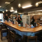 つけ麺 いちびり - 浜田店主とスタッフさんたち