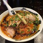 カラシビ味噌らー麺 鬼金棒 - 「特製カラシビ味噌らー麺」1050円