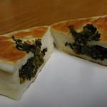 フラマンドール - 高菜のお米パン断面