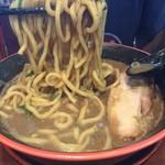 節系とんこつらぁ麺 おもと - 池の民と対決2