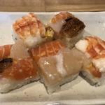 梅鈴 - 押し寿司(ランチセット)