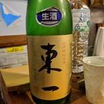 天史朗寿司 - 日本酒 東一