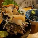 天史朗寿司 - サザエ刺し