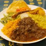 ロイヤルグリーン レストランアンドバー - 料理写真:スリランカカレー(マットン)