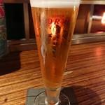 ROOF - 生ビール。