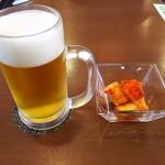 ふるさと味覚館 宙 - 生beerとお通しカクテギ