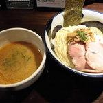 九十九里煮干つけ麺 志奈田 - 濃厚海老つけ麺