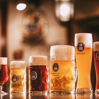 本場から直輸入のドイツビール
