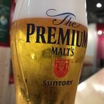 肉バル BEEF KITCHEN STAND - 生ビール