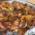 豊野丼 - ほたての切り落としかきあげ天丼 天丼アップ