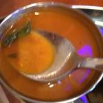 南インド料理 ドーサベル - ほんのりトマト味酸味しっかりラッサム