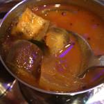 南インド料理 ドーサベル - 軽いアニス風味のラッサムぽいサンバル
