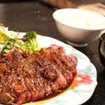 レッドロック - ☆ワンポンドステーキ定食 2450円
