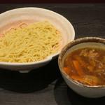 ラーメン大至 - カレー南蛮つけ麺870円