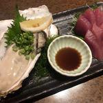 産地直送 お魚とお野菜 海畑 - 真牡蠣と鰹