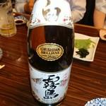 居酒屋 大漁 - 白霧島・一升瓶