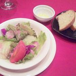 Arumandorino - 野菜サラダ・自家製フォカッチャ
