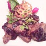8593658 - 羊肉のグリル、赤ワインソース