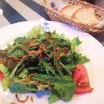 マルデナポリ - サラダとフォカッチャ