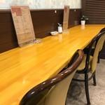 神戸一 -  カウンター席でいただきました(2018.5.16)